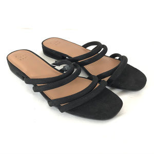 A New Day Womens Sophia Strappy Slide Sandals 7.5